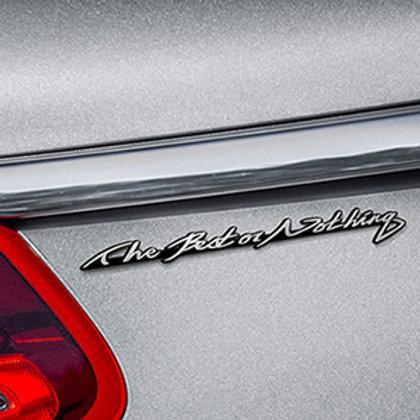Griben Car Lettering Slogan Emblem Silver Badge 30119 for Benz & AMG
