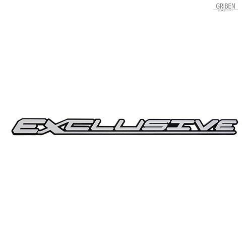 Griben Car Emblem Sliver Slim Badge 30338 for Hyundai Palisade