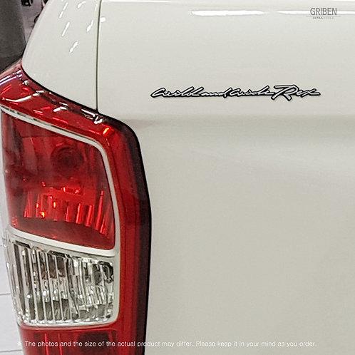 Griben Car Emblem Handwriting Badge 30346 for Musso Sports