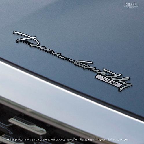 Griben 70360 Car Slogan Handwriting Emblem Metal Chrome Badge for XTS