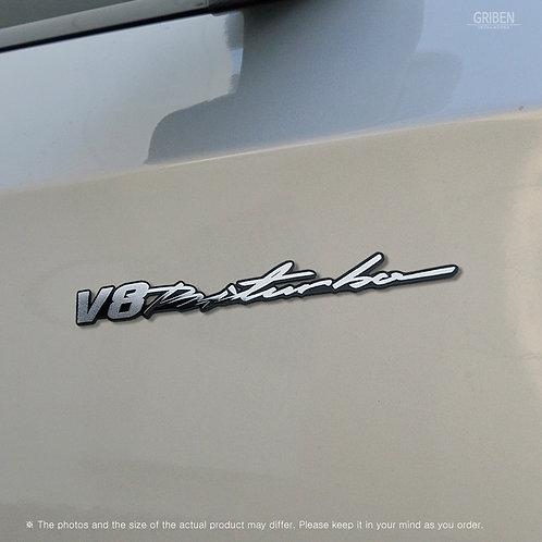 Griben Car Handwriting Emblem Metal Chrome Badge 70355 for Mercedes-Benz, AMG