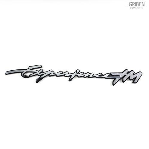 Griben Car Slogan Emblem Pair Metal Chrome Badge 70268 for Hyundai Santafe TM