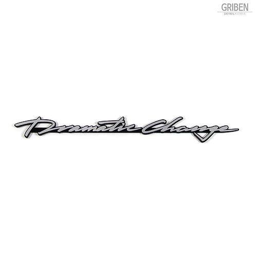 Griben Car Slogan Emblem Sliver Badge 30247 for Hyundai Sonata New Rise (2017~)