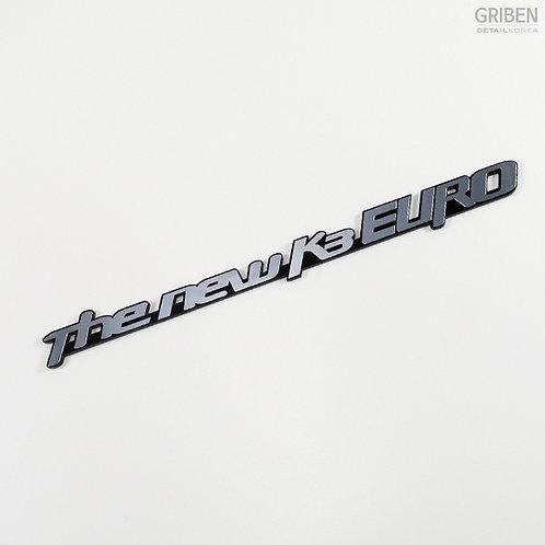 Griben Car Metal Chrome Acryl Emblem 70131 for Kia Forte or K3