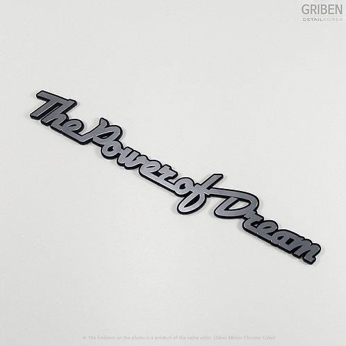 Griben Car Metal Sticker Chrome Acryl Emblem Badge 70081 for HONDA