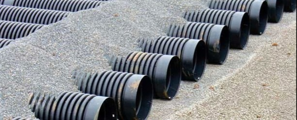 Corrugated HDPE Pipe