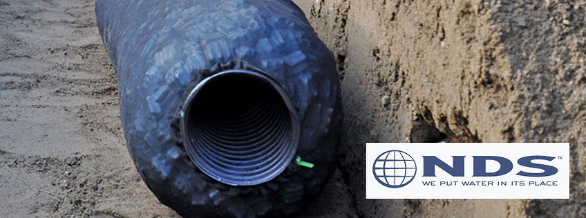 NDS EZ Flow Drainage Pipe