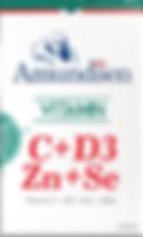 Vitamin C + D3 + Zinc + Selenium. Amundsen
