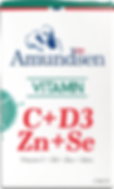 Vitamin C + D3 + Zinc + Selenium by Amundsen