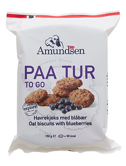 PAA TUR Blåbærkjeks / With blueberry