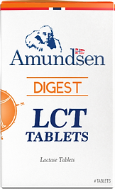 Lactose tablets by Amundsen