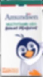 Gummy Penguin Vitamins for kids by Amundsen