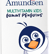 Gummy penguins Multivitamis for Kids by Amundsen