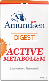 Active Metabolis. Multivitamins and Multiminerals by Amundsen