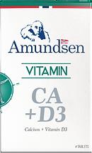 Calcium + Vitamin D3. Amundsen