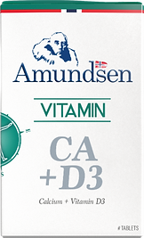 Calcium and Vitamin D3 by Amundsen