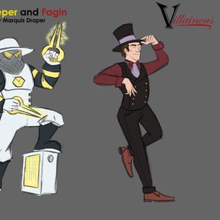 Villainous Bee Keeper and Fagin