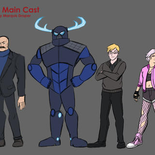 Villainous Character Lineup