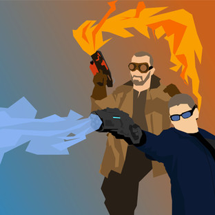 DCTV Vectors: Captain Cold and Heat Wave