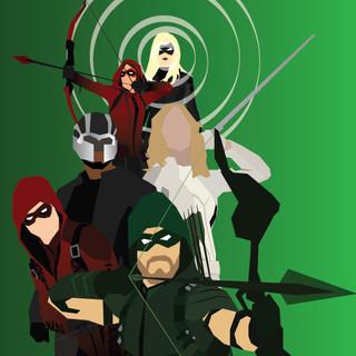 DCTV Vectors- Team Arrow