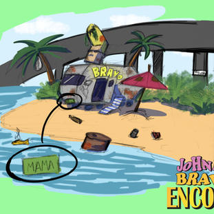 Johnny Bravo Encore: Johnny's Trailer