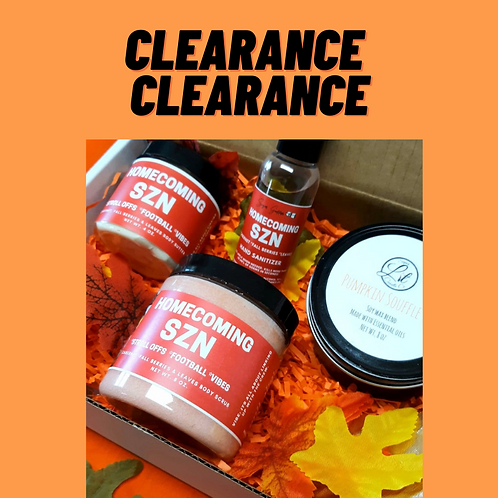 *CLEARANCE SECTION*