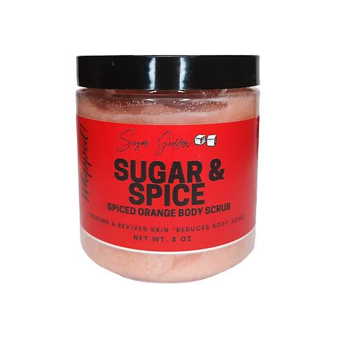 Sugar & Spiced Orange Cranberry Skin Improving Body Scrub
