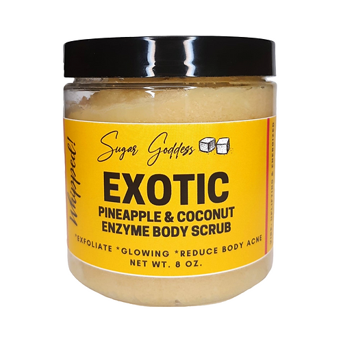 Exotic Body Scrub- Enzyme & Glowing Skin