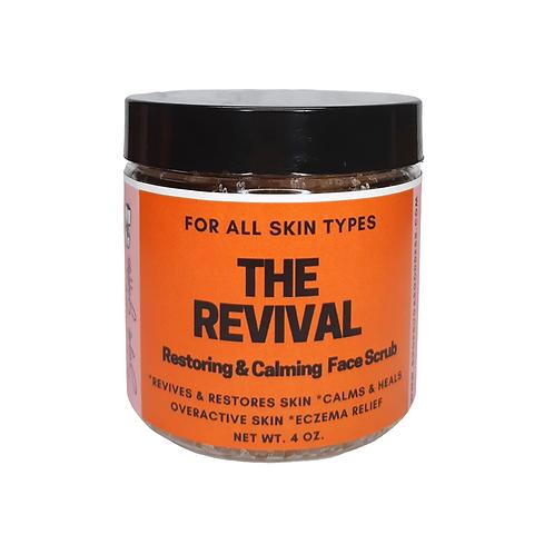 Revival Rose & Hibiscus Hydrating & Nourishing Facial Exfoliant