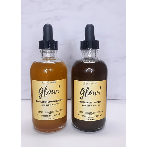 GLOW Shea Body Oils