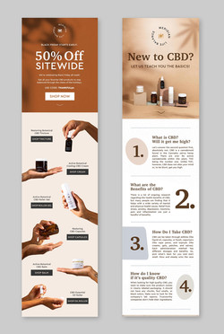 Custom Email Design, Content & Strategy