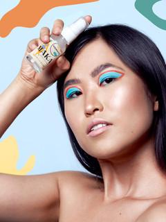 Model With Shapes Namaka Skin Beauty Pho