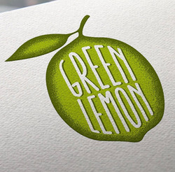Green Lemon Logo Option