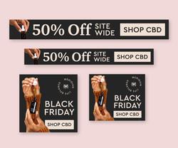 Black Friday Digital Ad Set