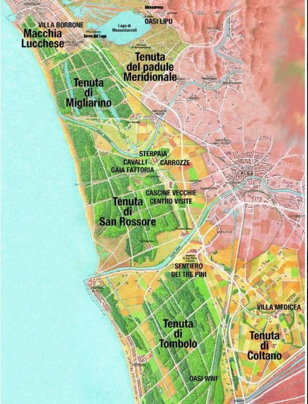 Mappa-parco-san-rossore-migliarino-massaciuccoli
