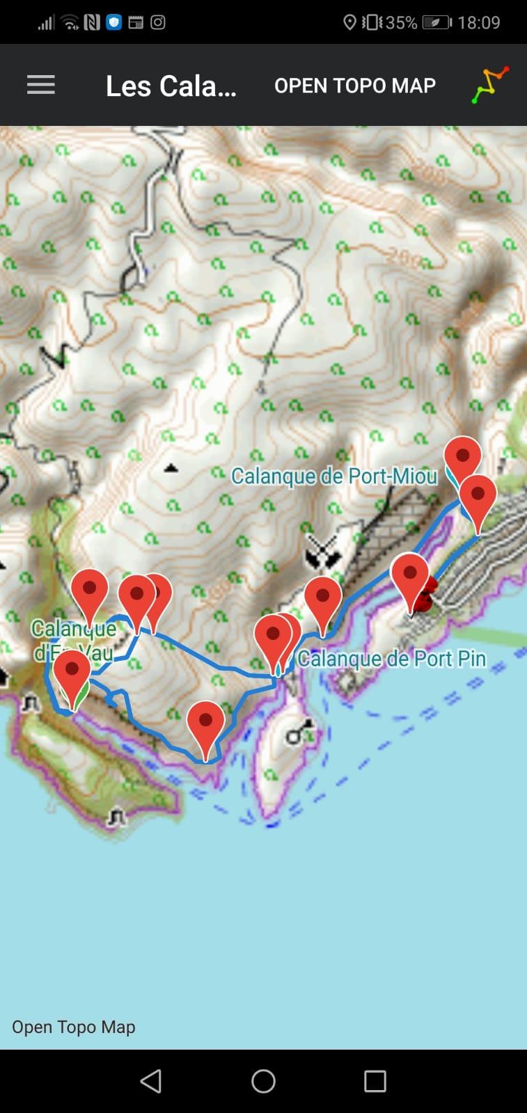 easytrail trekking app
