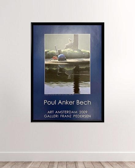Poul Anker Bech plakat 2009 - Galleri Franz Pedersen