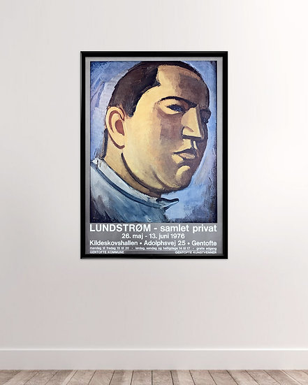 Vilhelm Lundstrøm kunstplakat