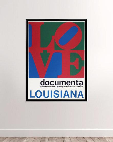 (Solgt) Louisiana Robert Indiana - LOVE documenta