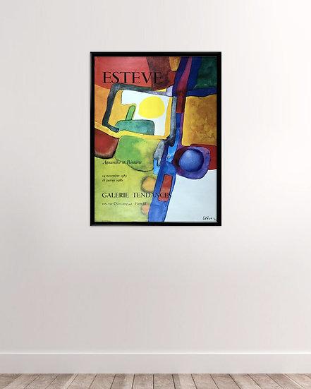 Maurice Estève - Galerie Tendances 1985