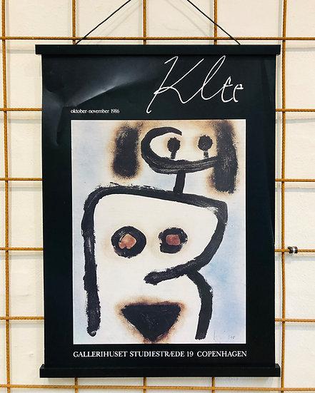 Paul Klee plakat- Gallerihuset 1986