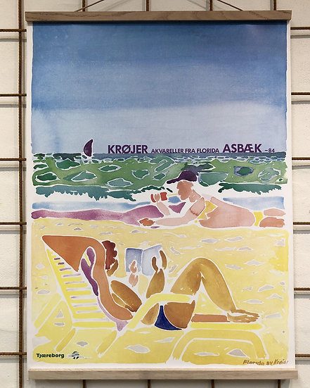Tom Krøjer - Akvareller fra Florida - Galerie Asbæk