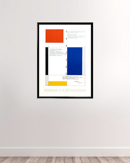 Piet Mondrian - Neo Plastcisme
