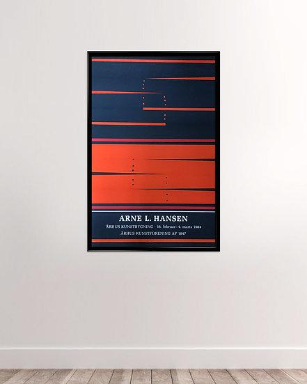 Arne L Hansen - Århus kunstforening 1984