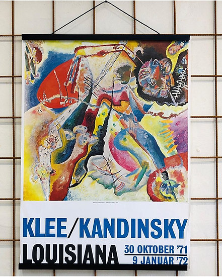 (SOLGT )Louisiana KLEE /Kandinsky - Rød plet nr. 1