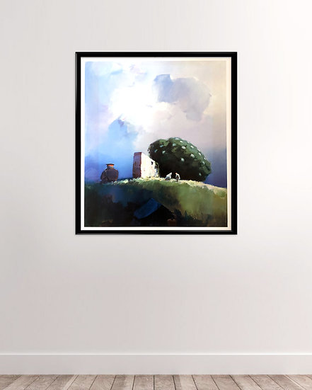 (solgt) Poul Anker Bech - Print plakat