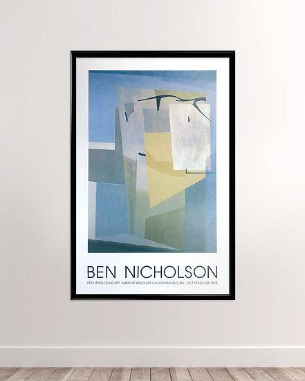 Ben Nicholson - Albright-Knox Art Gallery 1978.