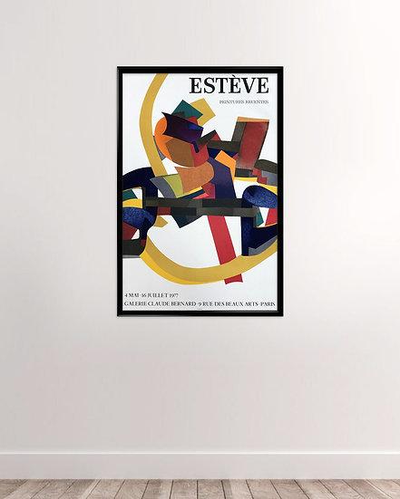 Maurice Estève - Galerie Claude Bernard