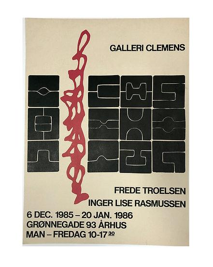 Galleri Clemens - Århus 1985