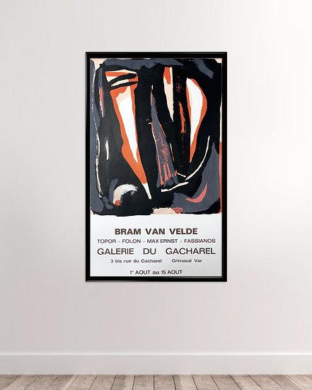 Bram van velde - Galerie Du Gacharel